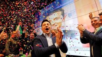 Comediante gana la presidencia de Ucrania
