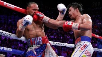 Imparable y feroz: Pacquiao derrota a Thurman