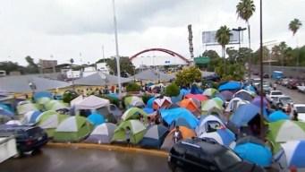 """AMLO: """"no hay crisis migratoria"""" en Matamoros"""