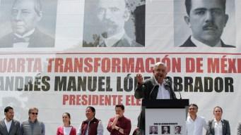 López Obrador dice que reformará el ejército