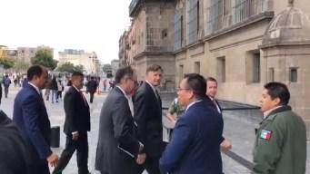 AMLO pide a embajador castigo ejemplar por masacre
