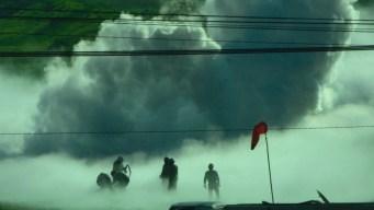México: cerca de 3,000 evacuados por fuga de gas