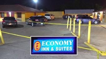 Balacera mortal en estacionamiento de motel