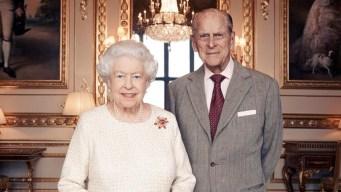 La reina y su esposo celebran 70 años de casados
