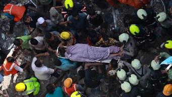 Derrumbe en India: hallan más cuerpos y hay más heridos