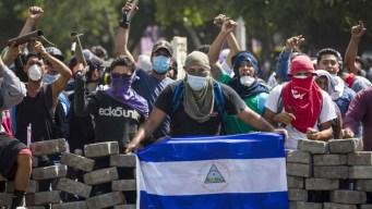 Protestas y represión dejan muertos en Nicaragua
