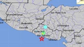 Al menos 30 réplicas tras terremoto al sur de El Salvador