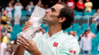 Federer se proclama ganador en Miami: su título 101