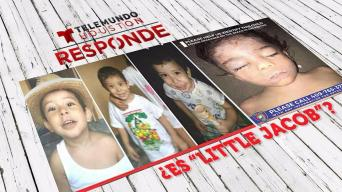 """Descartan que niño desaparecido era """"Little Jacob"""""""