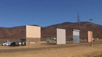 Comienza construcción de tramo del muro en California