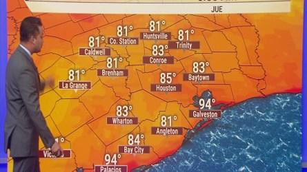 Calor y más calor.   Las temperaturas alcanzarán los cien grados en cuestion de días