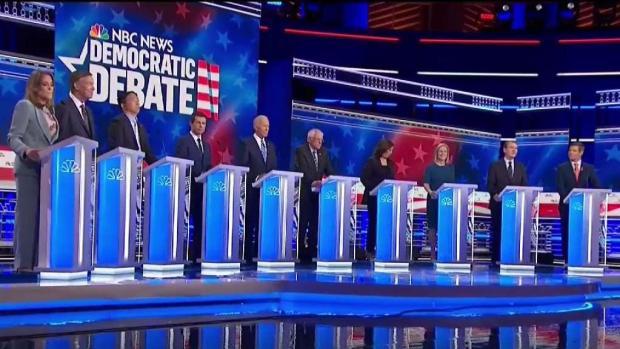 Video: así cerraron los candidatos su participación en el debate
