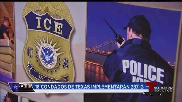 [TLMD - Houston] 18 condados en Texas se suman al programa 287g