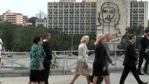 [TLMD - MIA] Así fue el primer día del príncipe Carlos y su esposa Camila en Cuba
