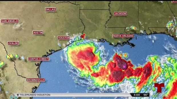 [TLMD - Houston] Barry se aleja de Texas y se enruta hacia Luisiana