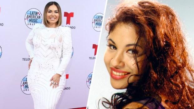 Chiquis Rivera canta en homenaje a Selena