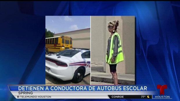 [TLMD - Houston] Chofer arrestada libre tras pagar fianza