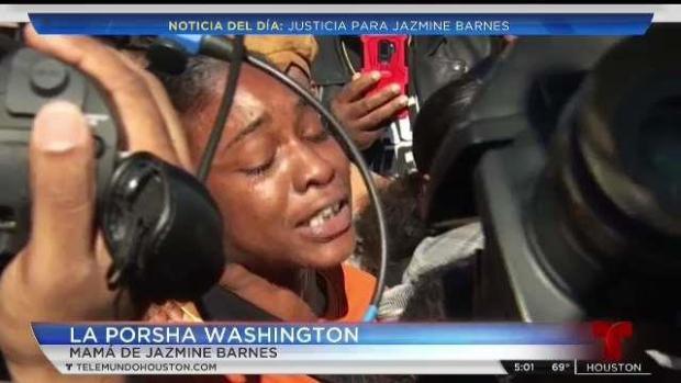 [TLMD - Houston] Cientos exigen justicia por Jazmine Barnes
