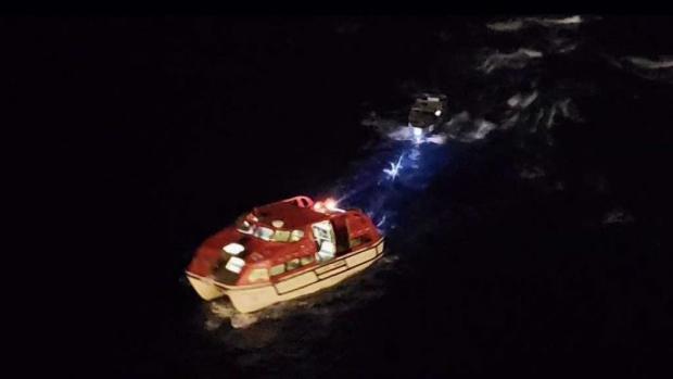 [TLMD - MIA] Crucero de Royal Caribbean rescató a dos pescadores perdidos en el mar
