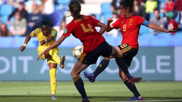[WWC 2019] Kgatlana marca el primer gol en la historia del Mundial para Sudáfrica