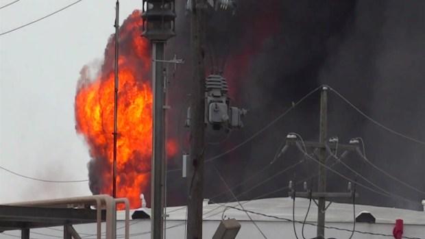 [TLMD - Houston] Incendio en planta química de Deer Park