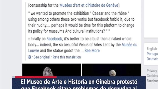 [TLMD - NATL] Facebook censura estatuas desnudas y se disculpa