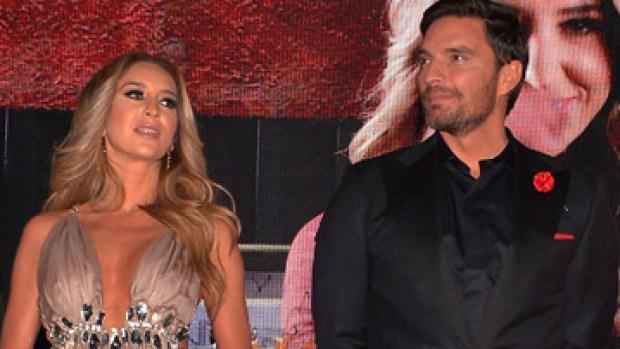 Cara a cara: se encuentran Geraldine Bazán y Julián Gil