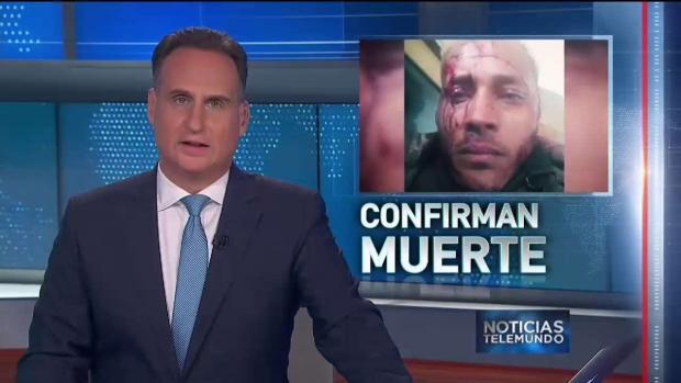 Gobierno venezolano confirma asesinato de Oscar Pérez