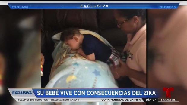 [TLMD - Houston] Habla mamá del primer bebe con microcefalia en Houston