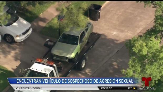 [TLMD - Houston] Hallan auto sospechoso de ser usado  en violaciones