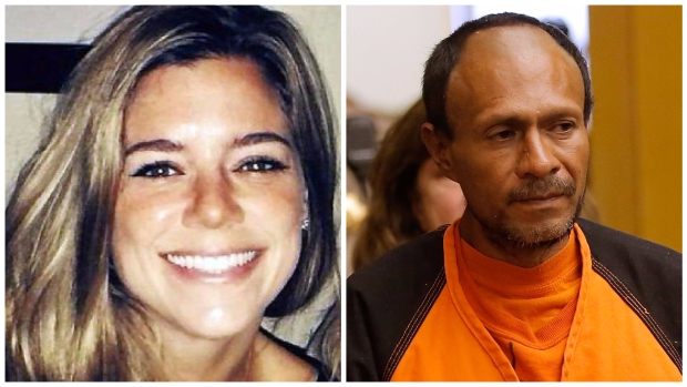 Indocumentado que disparó, declarado no culpable por la muerte de Kate Steinle