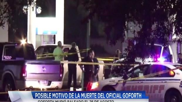 [TLMD - Houston] Difunden motivo del atentado al oficial Darren Goforth