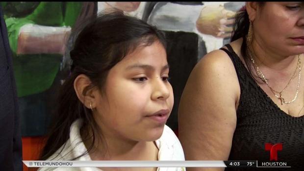 [TLMD - Houston] Niña salvadoreña enfrenta deportación en Houston