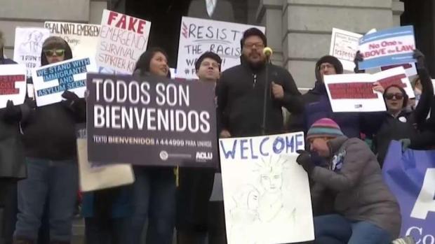 [TLMD - Denver] Protestas en el Capitolio de Denver contra acciones de Donald Trump