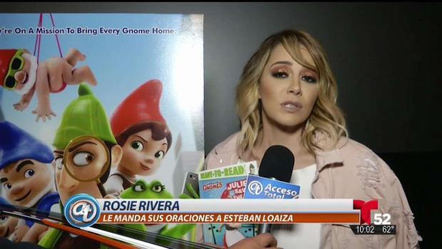 [TLMD - LA] Rosie Rivera manda oraciones a Loaiza