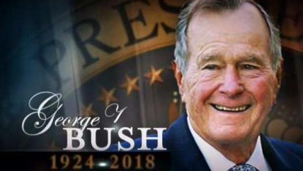 [TLMD - LV] Último adiós a George H.W. Bush en Washington