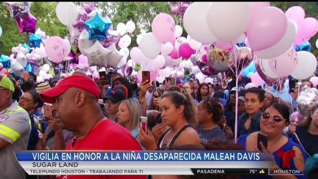 [TLMD - Houston] Vigilia en honor a Maleah Davis