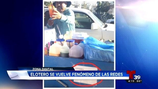 Argentino le tira su puesto ambulante a un mexicano