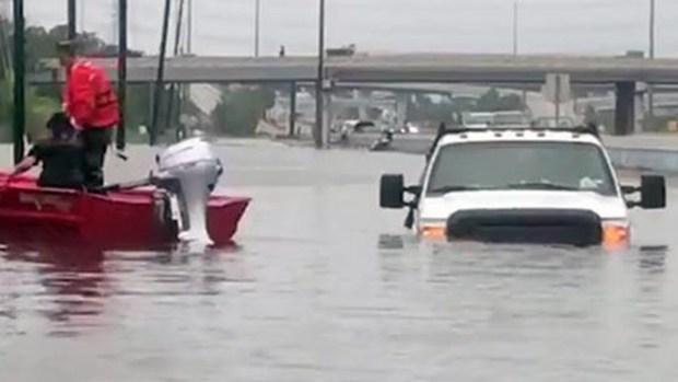 Un tweet salvó a los ancianos de una residencia inundada en Texas