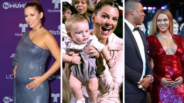 Bebés y embarazos de 2017: desde gemelos hasta vientres de alquiler