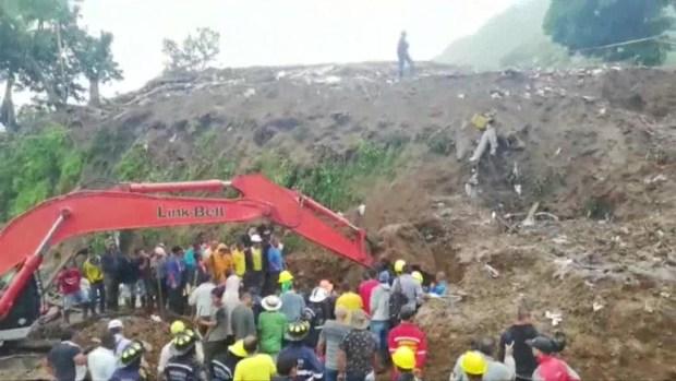 Lluvias dejan estela mortal en Colombia