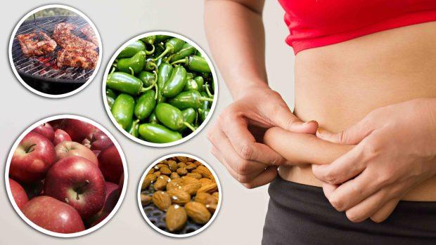 Baja esas libras de más: 30 alimentos que queman grasa