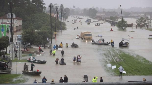 Catástrofe en Houston en imágenes