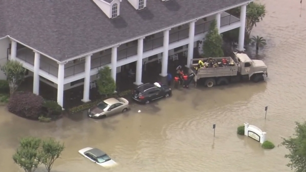 Mortales inundaciones en Houston