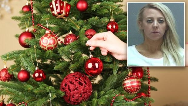 Mujer muere a tiros cuando decoraba árbol de Navidad con los hijos de su novio
