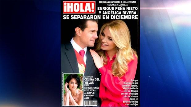Angélica Rivera confirma divorcio de Enrique Peña Nieto