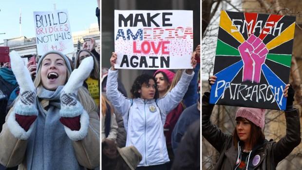 Mujeres contra Trump: crece la participación