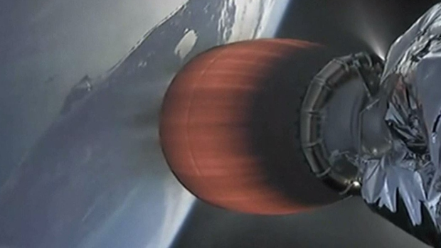 SpaceX despega con gusanos y pavo de Navidad