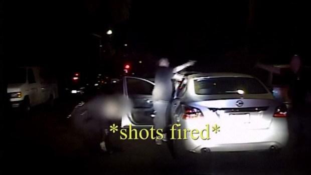 Dramático video de mortal tiroteo a quemarropa