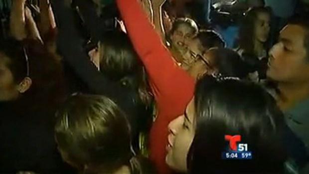 """Video: La """"Biebermanía"""" se apodera de Miami"""